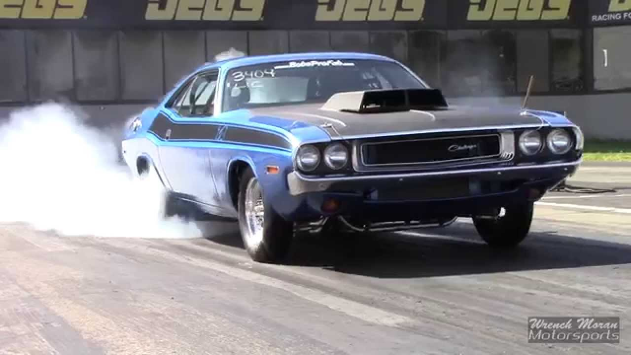 1970 Dodge Challenger T A Drag Racing Youtube