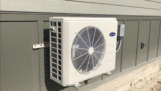 Скачать Installing A Mini Split AC Heating System In The Shop