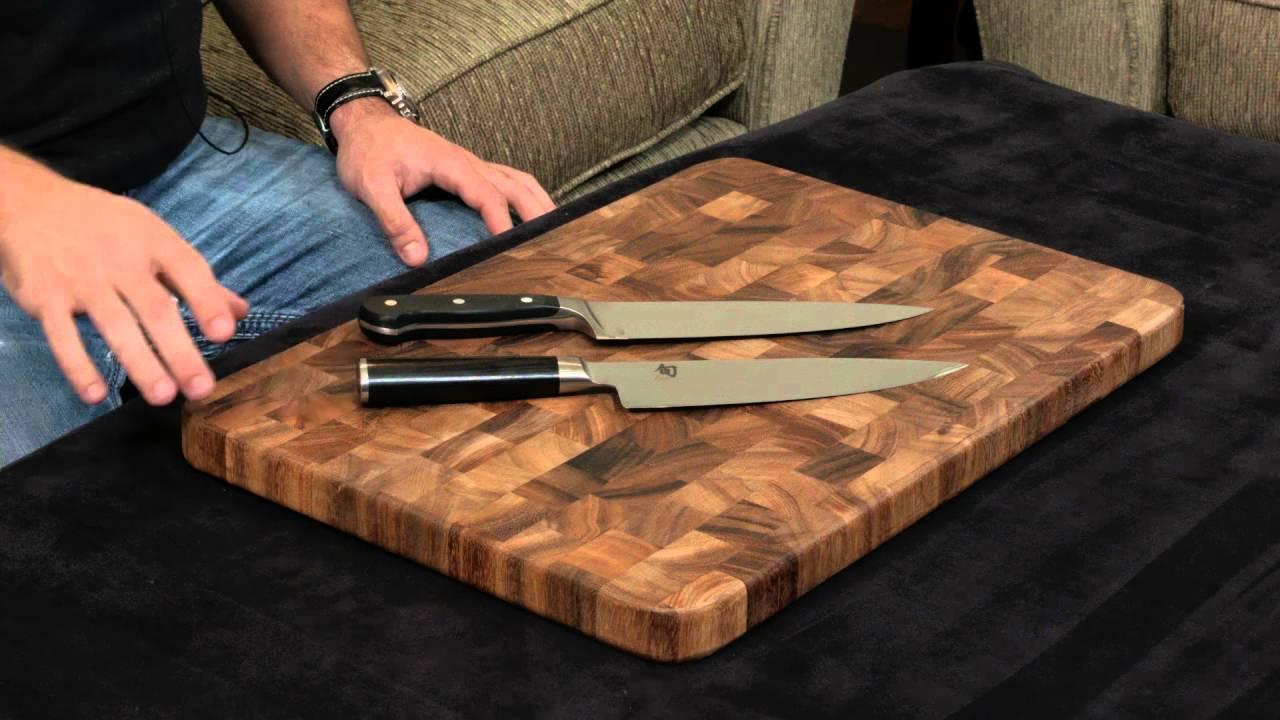 shun classic vs wusthof classic u2014 8 inch chefu0027s knife - Shun Chef Knife