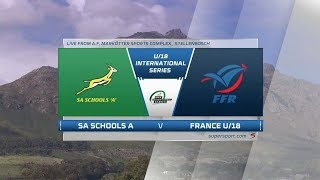 U18 Rugby | SA vs France | Highlights