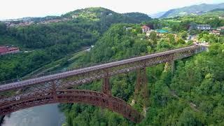 Ponte San Michele, Paderno d'Adda, Italia - Xiaomi Mi Drone