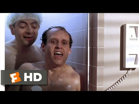 Bean (8/12) Movie CLIP - Shower Surprise (1997) HD