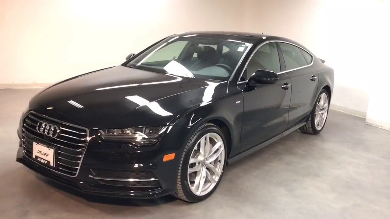 2016 audi a7 tdi technik s line sport package canadian. Black Bedroom Furniture Sets. Home Design Ideas