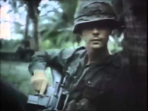 CCR Run Through the Jungle  Vietnam footage