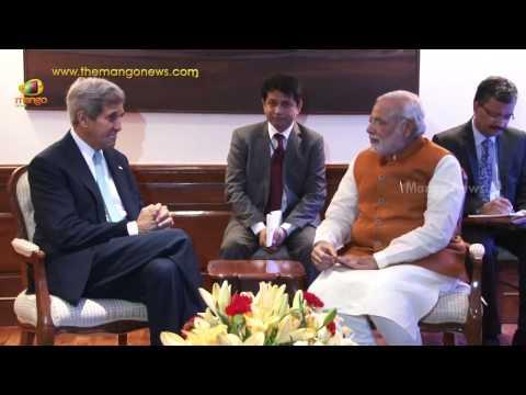 PM Narendra Modi meets US Secretary of State John Kerry