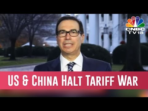US & China Halt Tariff War , Agree To A 3-Month Ceasefire