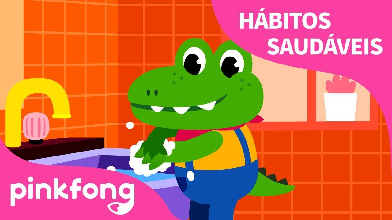 Lave Suas Mãos | Canções de Hábitos Saudáveis | Pinkfong Canções para crianças