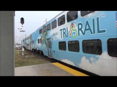 West palm beach Rail-fanning | Amtrak and Tri-rail