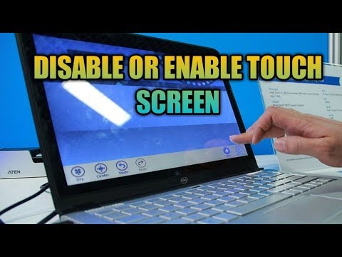 How To Disable Touch Screen || Disable Touch Screen In Laptop