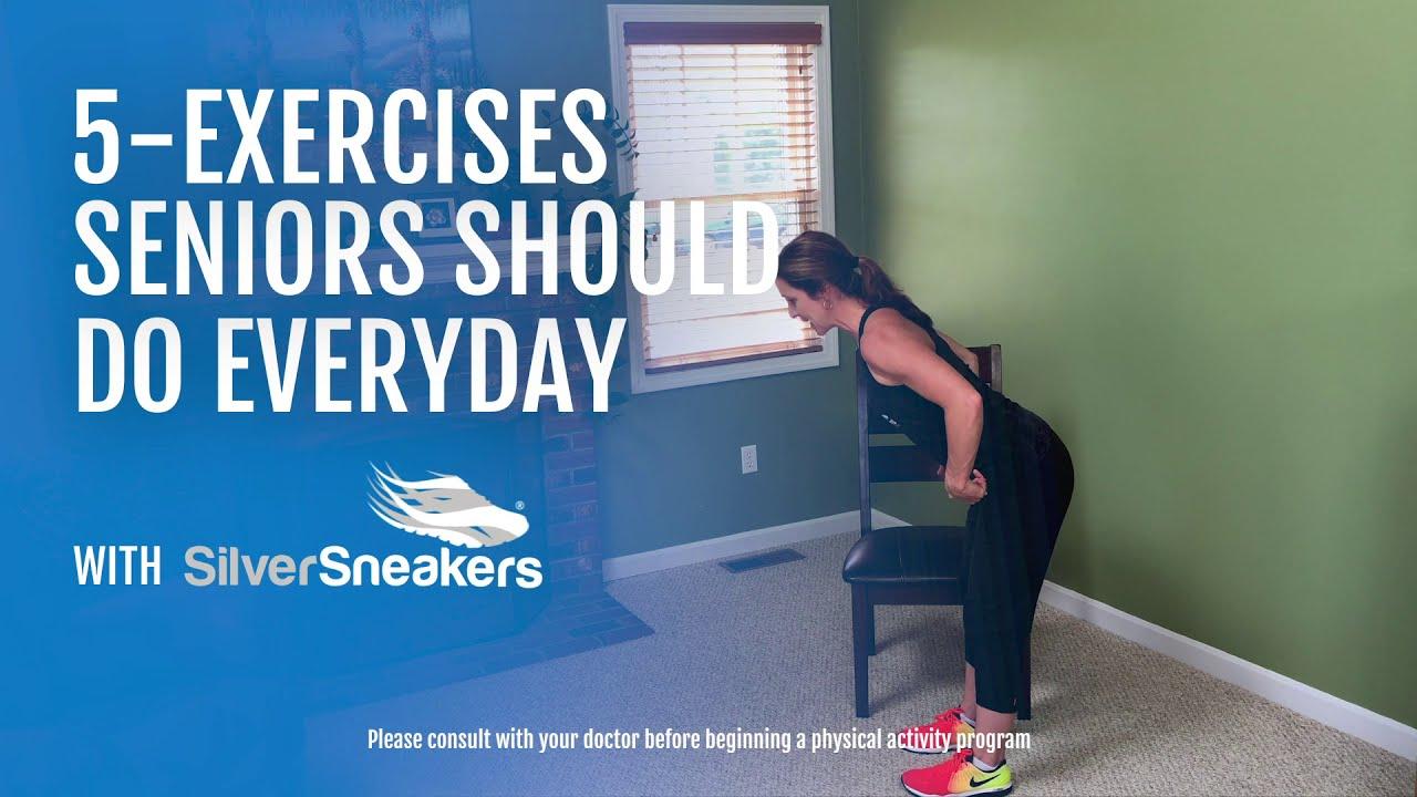 5 Exercises Seniors Should Do Everyday