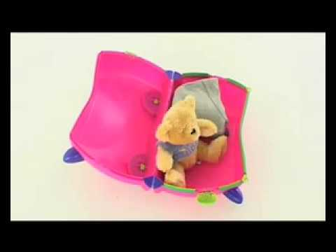 Trunki - Innovative Wheeled Child Travel Luggage-Suitcase