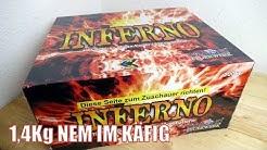 INFERNO Diamond Feuerwerk | NEUHEIT 2017 | XXL VERBUND BATTERIE | Pyro Special
