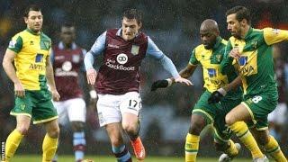 Video Gol Pertandingan Aston Villa vs Norwich City