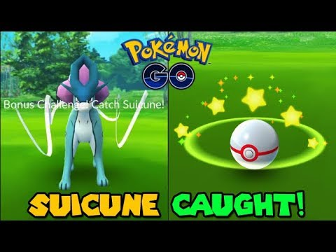 how to catch suicune in pokemon go