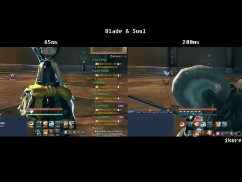 Blade & Soul: Ping Comparison