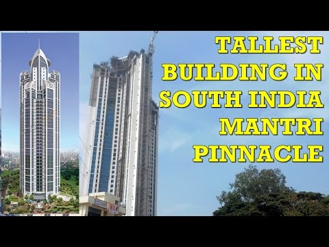 The Tallest Building in South India-Mantri Pinnacle