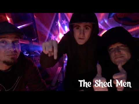 The Shed Men…Tech boy makes a guest appearance!!!
