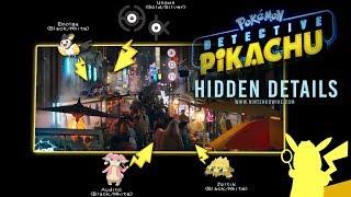 Hidden Pokémon & Easter Eggs in the Detective Pikachu Trailer