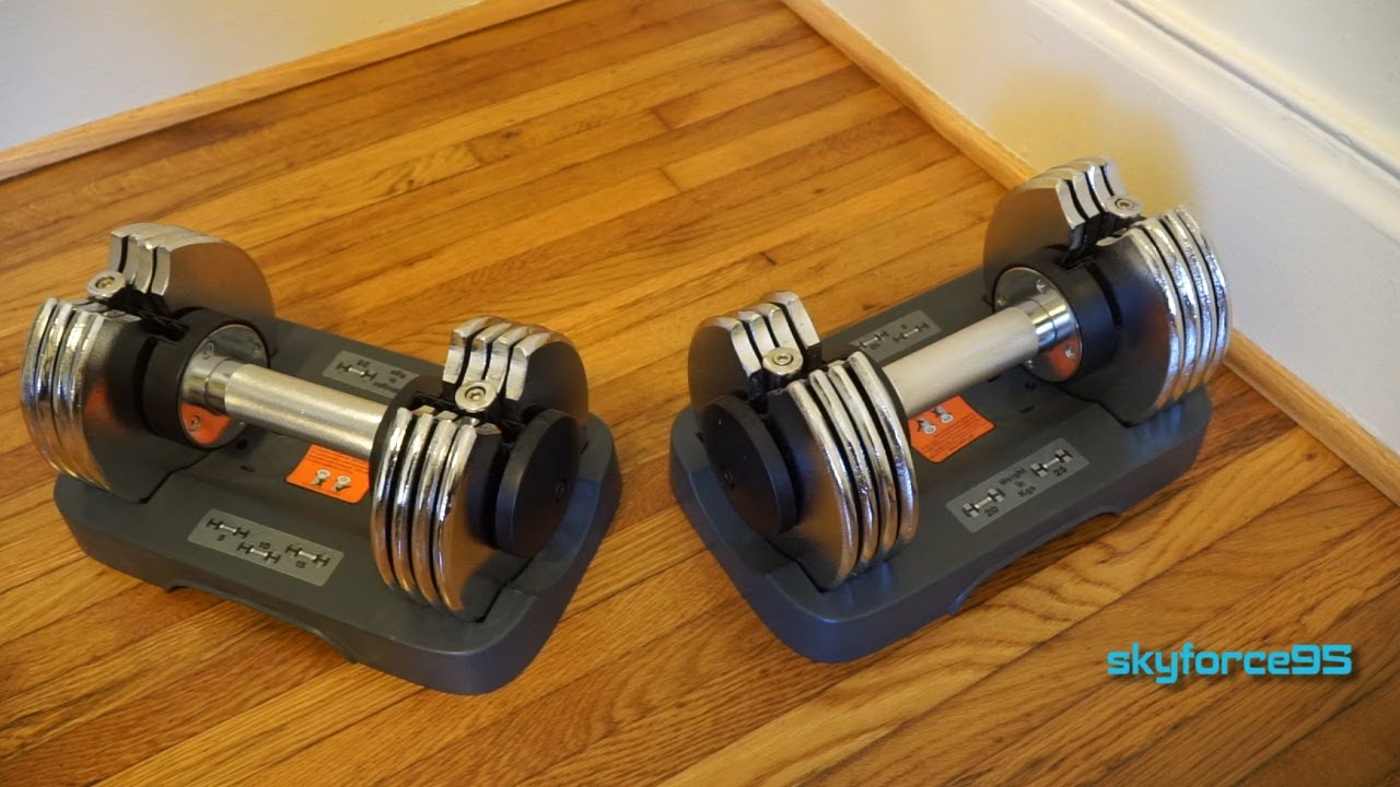 Bayou Fitness Adjustable Dumbbells 5 25 Lb Review