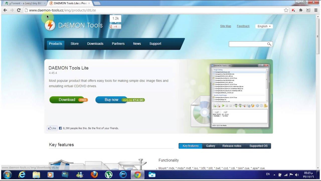 daemon tools free torrent download