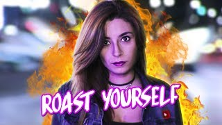 ROAST YOURSELF CHALLENGE | Lyna Vlogs thumbnail