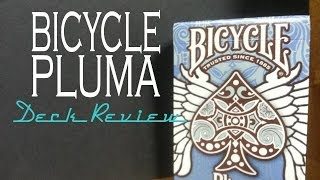 Pluma - Bicycle Playing Cards - Deck Review