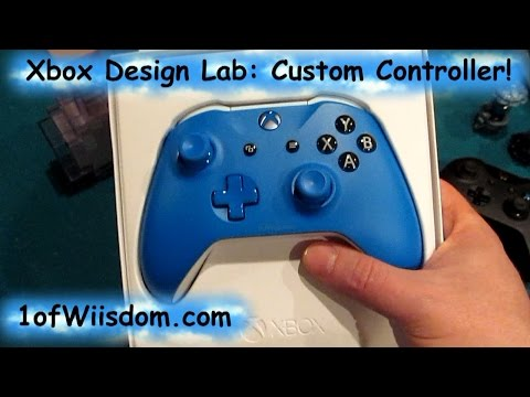 Unboxing & Overview Microsoft Xbox Design Lab Custom Xbox One Controller