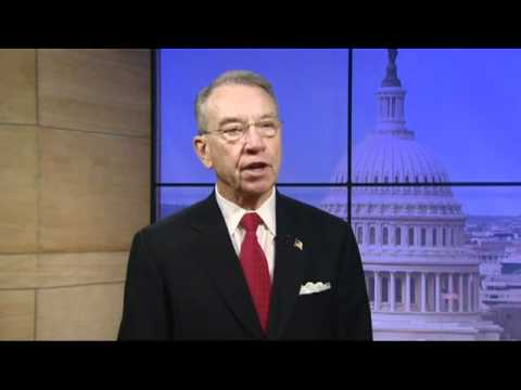 Senator Grassley Gets Sworn in for the 112th Congress