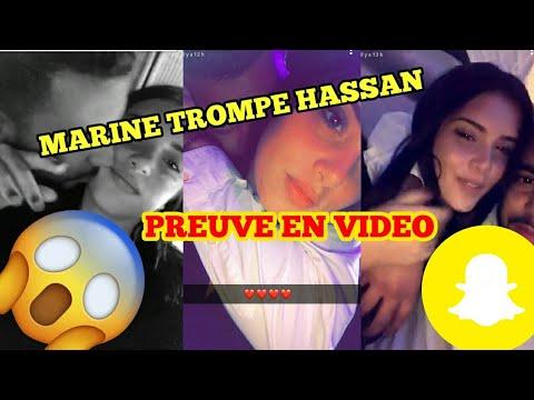Marine Trompe Hassan Sur Snapchat - un rebeu une française