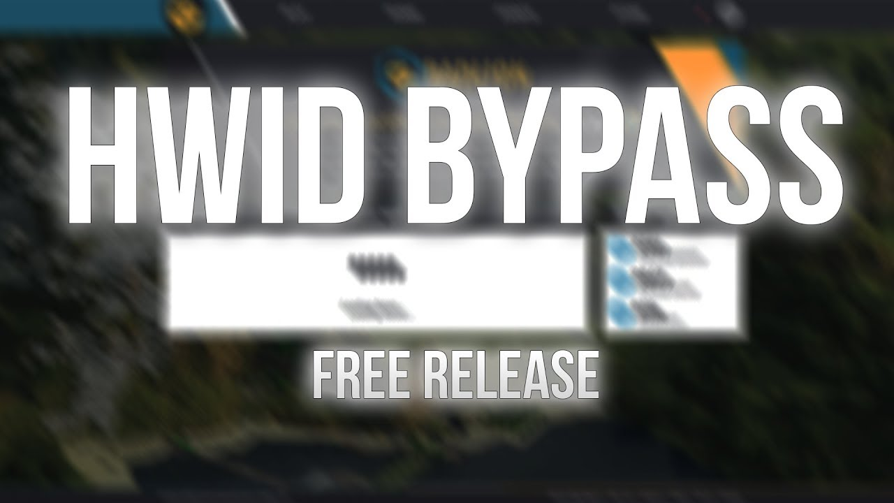 [FIXED (Working on a new bypass)] HWID Changer FREE RELEASE |  superblaubeere27