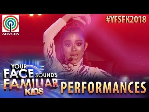 Your Face Sounds Familiar Kids 2018: Sheena Belarmino as Sarah Geronimo | Tala