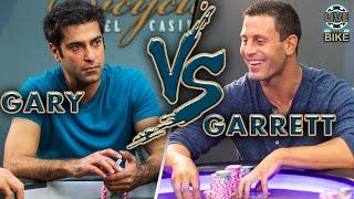 Garrett Adelstein Puts Gary to the Test ♠ Live at the Bike!