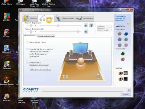 "Activar ""Stereo Mix"" en Windows 7"