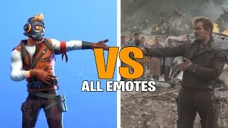 Fortnite All Emote & Dances in Real Life! (Dance Off , Dream Feet , Shadow Boxer)