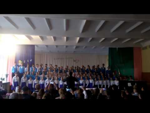 "UEFA CHAMPIONS LEAGUE anthem (children choir version ) LTPA ""Nicolae Sulac"" Chisinau, Moldova"