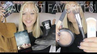 August Favorites 2014 | Maddi Bragg Thumbnail