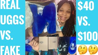 I BOUGHT FAKE UGG FLUFF YEAH'S FROM DHGATE!!