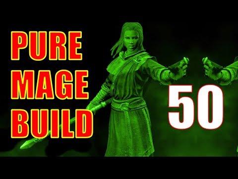 Skyrim Pure Mage Walkthrough NO WEAPONS NO ARMOR Part 50 - High Gate Ruins (Storm Call 2) thumbnail