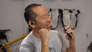 Aftershokz Trekz Titanium Headphone Review - Milestone Rides