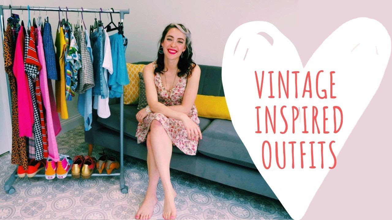 [VIDEO] - 10 Summer Outfit ideas | Vintage inspired 4