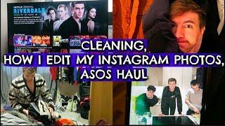 FLAT CLEANING, HOW I EDIT MY PHOTOS & ASOS HAUL