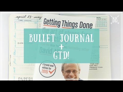 Bullet Journal + GTD