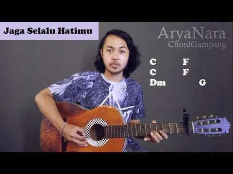 Chord Gampang (Jaga Selalu Hatimu - Seventeen) By Arya Nara (Tutorial Gitar) Untuk Pemula