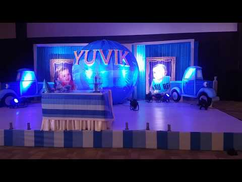Globe With Little Trucks Theme Decoration in Hyderabad Call Us for More Details: +91 8099958524