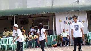 dancers for the event of teacher's day [ from : IV st. michael & pe...