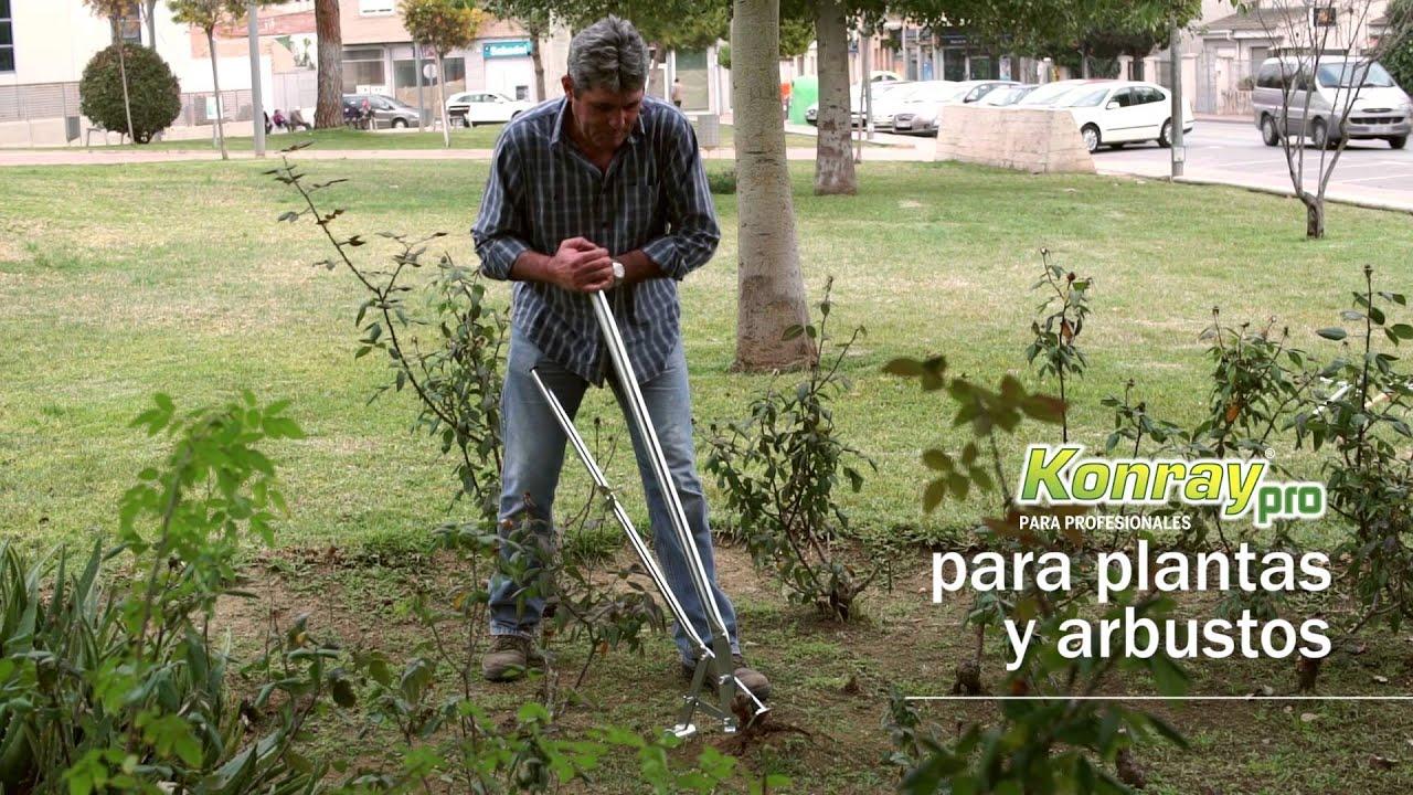 Herramienta de jardiner a para eliminar malas hierbas y for Como quitar la mala hierba del jardin