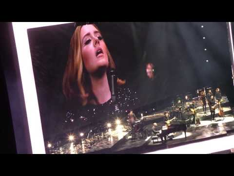 Adele in Dublin- All I ask, When We WereYoung, Rolling in the Deep