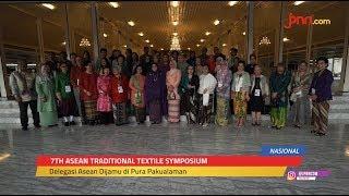 Penyambutan Delegasi Negara ASEAN Jelang Simposium Tekstil di Yogyakarta - JPNN.com