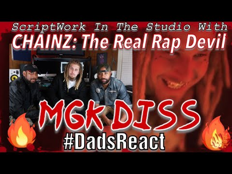 DADS REACT | CHAINZ x THE REAL RAP DEVIL IN STUDIO BAR BREAKDOWN | THE REAL REASON HE DISSED MGK !!