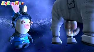 Raving Rabbids | Travel in Time | Episode 5 Wii | ZigZag Kids HD